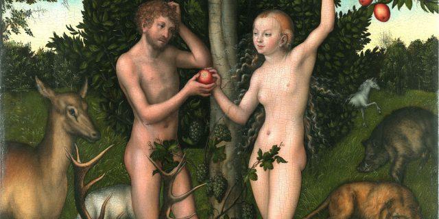 Adamo ed Eva: il primo colpo di fulmine nella storia. Riflessioni condivise nella coppia, tra moglie e marito.