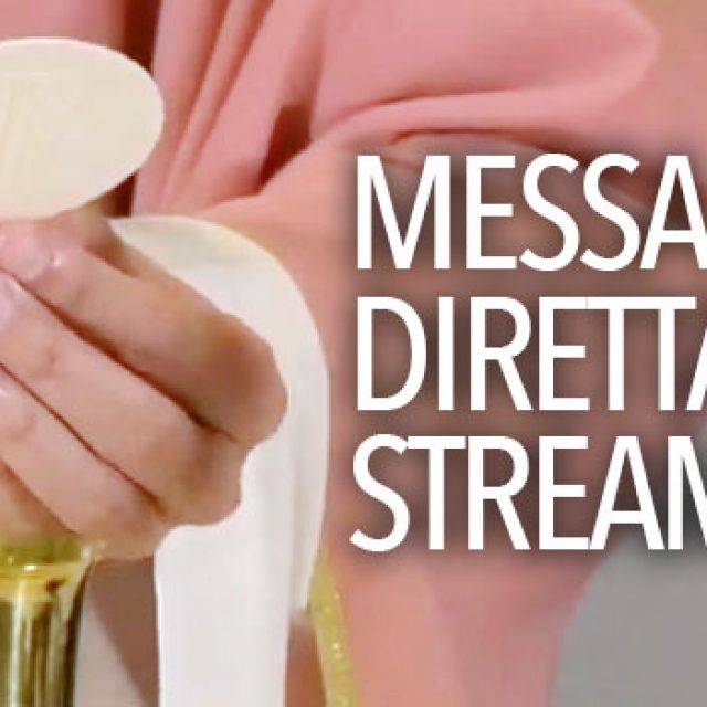 S. Messa in streaming del 29 marzo 2020