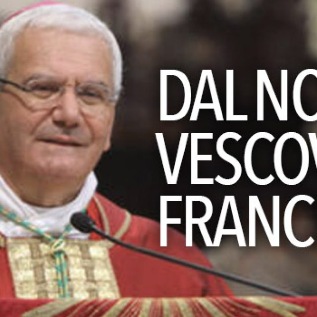 Dal nostro Vescovo Francesco