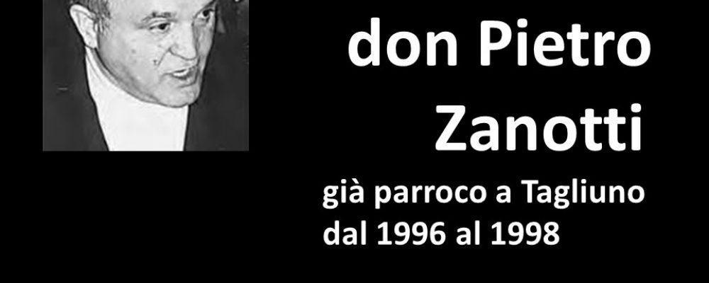 Commemorazione di Don Pietro Zanotti