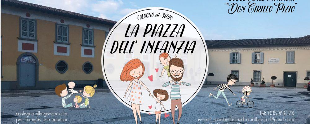 inaugurazione LA PIAZZA DELL'INFANZIA