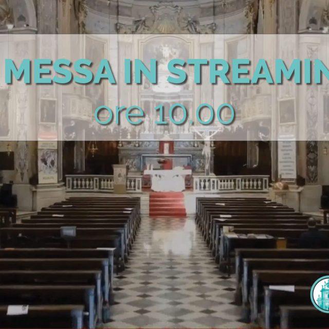 S. Messa in streaming del 16 Agosto 2020